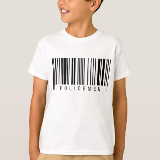 Policemen Barcode T-Shirt