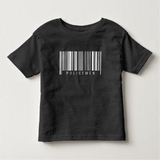 Policemen Barcode Toddler T-Shirt