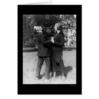 Policewoman Self Defense 1922 Card