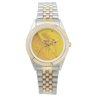 Polish Amber Mosquito Watch