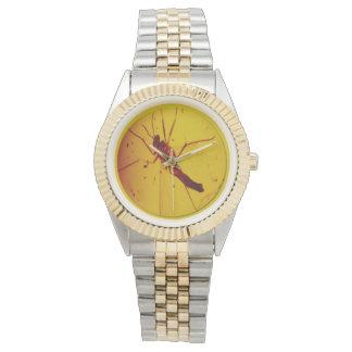 Polish Amber Wasp Watch