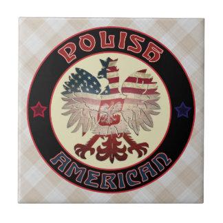 Polish American Eagle Tile