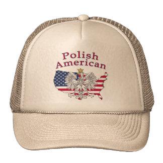 Polish American Map Trucker Hat