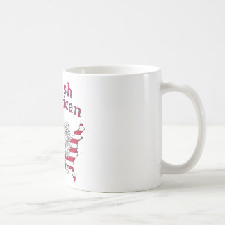 Polish American Map Coffee Mug