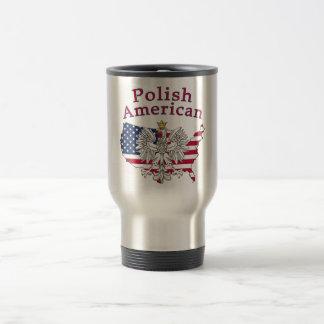 Polish American Map Mug