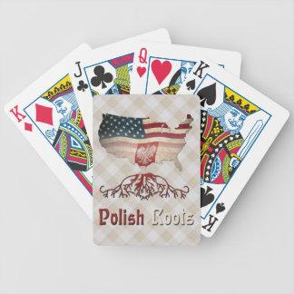 Polish American Roots Card Deck Poker Deck