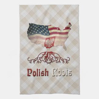 Polish American Roots Tea Towels
