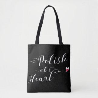 Polish At Heart Grocery Bag, Polish Tote Bag