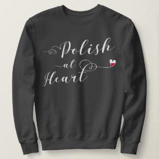 Polish At Heart Sweatshirt, Poland Sweatshirt