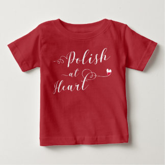 Polish At Heart Tee Shirt, Poland