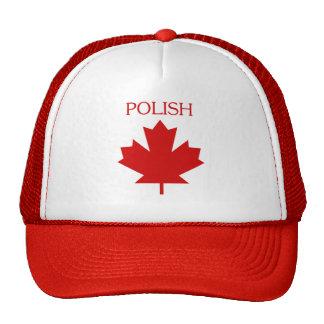 Polish Canadian Trucker Style Hat