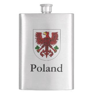 Polish Coat Of Arms Hip Flask