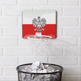 Polish Coat of arms Mini Basketball Hoop