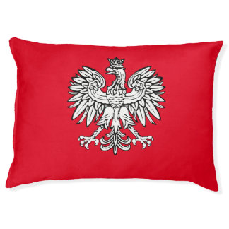 Polish Coat of arms Pet Bed