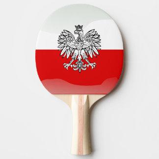 Polish Coat of arms Ping Pong Paddle