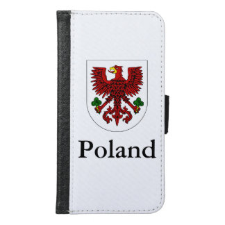 Polish Coat Of Arms Samsung Galaxy S6 Wallet Case