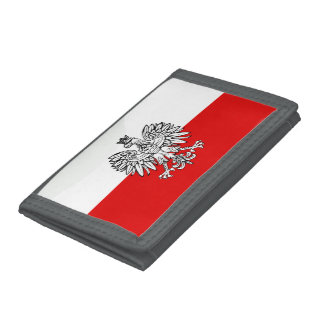 Polish Coat of arms Tri-fold Wallets