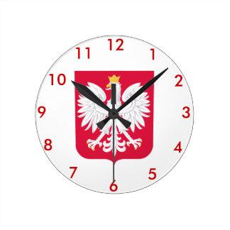 Polish* Coat of Arms Wallclock