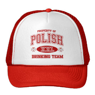 Polish Drinking Team Cap