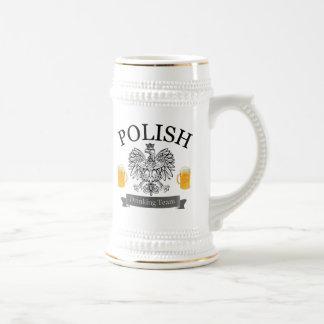 Polish Drinking Team Stein
