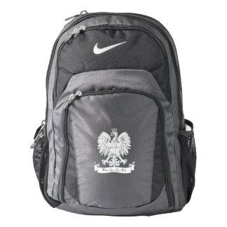 Polish eagle backpack