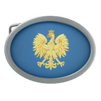 Polish eagle belt buckles