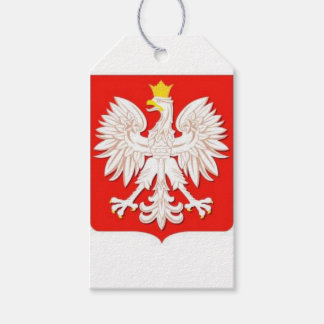 POLISH EAGLE GIFT TAGS