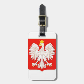 POLISH EAGLE LUGGAGE TAG