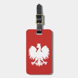Polish Eagle Luggage Tag