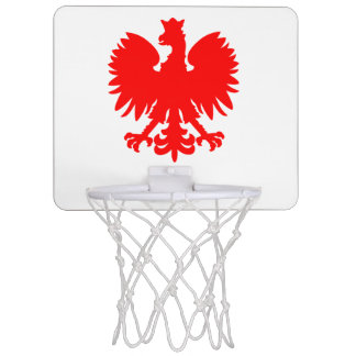 Polish Eagle Mini Basketball Hoop