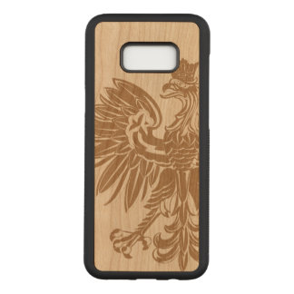 Polish Eagle Poland Flag Carved Samsung Galaxy S8+ Case