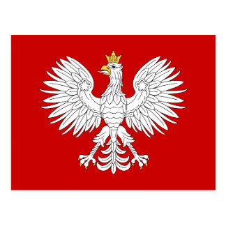 Polish Eagle Postcard