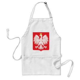 Polish Eagle Red Shield Standard Apron