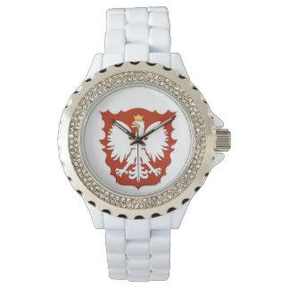Polish Eagle Shield Watch