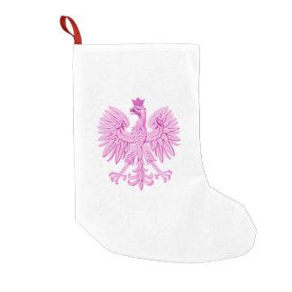 Polish eagle small christmas stocking