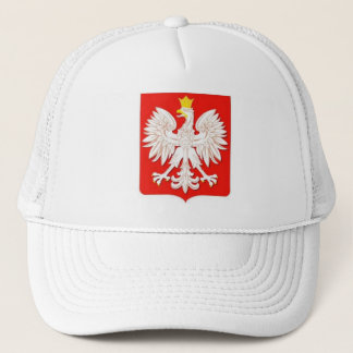 POLISH EAGLE TRUCKER HAT