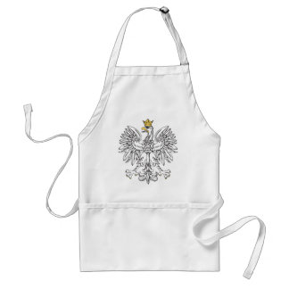 Polish Eagle With Gold Crown Standard Apron