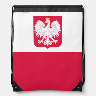 Polish flag Backpack