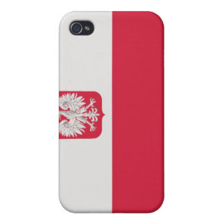 Polish Flag  Coat of Arms iPhone case iPhone 4 Case