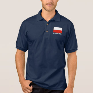 Polish flag custom polo shirts for men and women