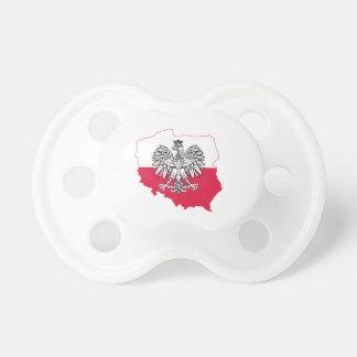 Polish Flag Pacifier