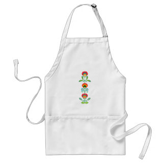Polish Floral Embroidery, Apron