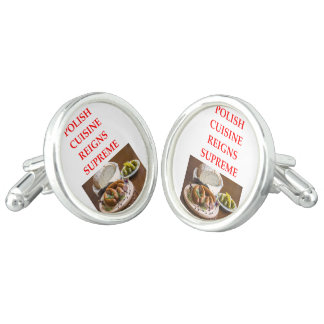 polish food cuff links