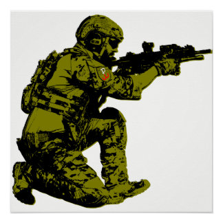 Polish Freedom Soldier Poster