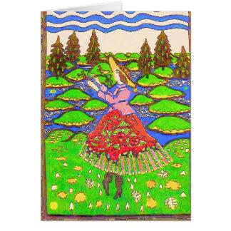 Polish Garden, Card