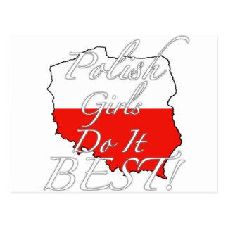 Polish Girls Do It Best! Postcards