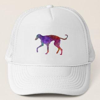 Polish Greyhound in watercolor Trucker Hat