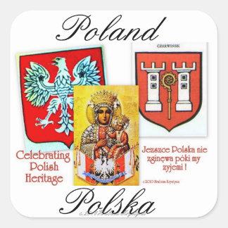 POLISH HERITAGE CREST LABELS