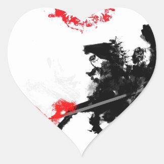 Polish Hussar Heart Sticker