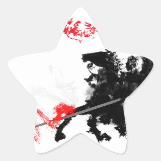 Polish Hussar Star Sticker
